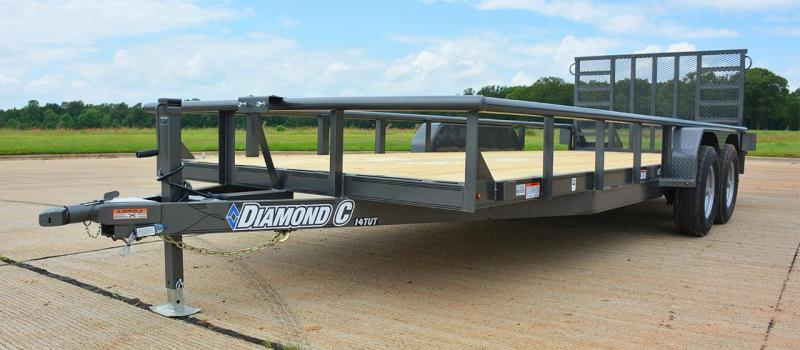 "82"" x 18' Utility Trailer Diamond C"