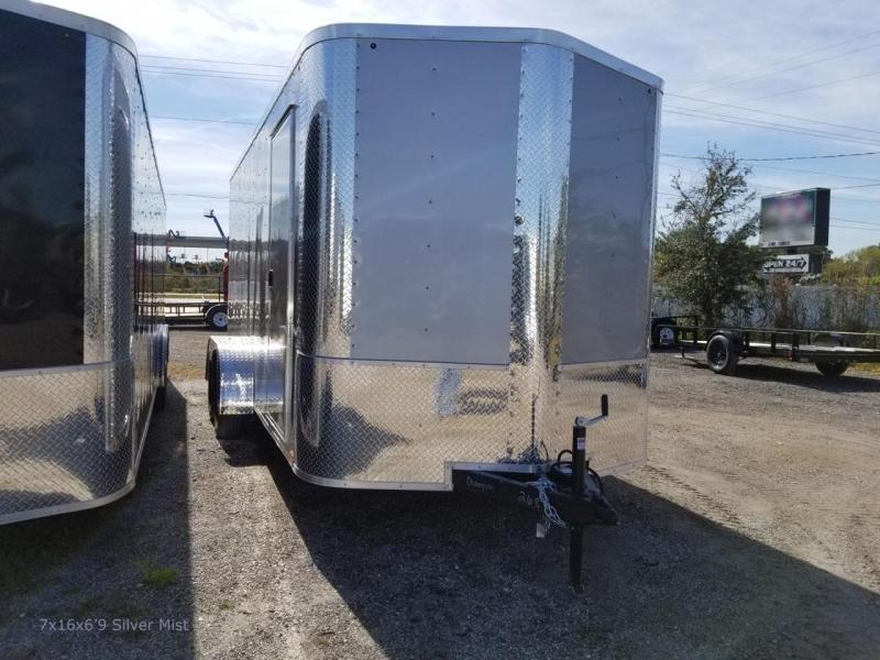 Arising 7x14x6  Enclosed  Cargo Trailer Motorcycle trailer Storage