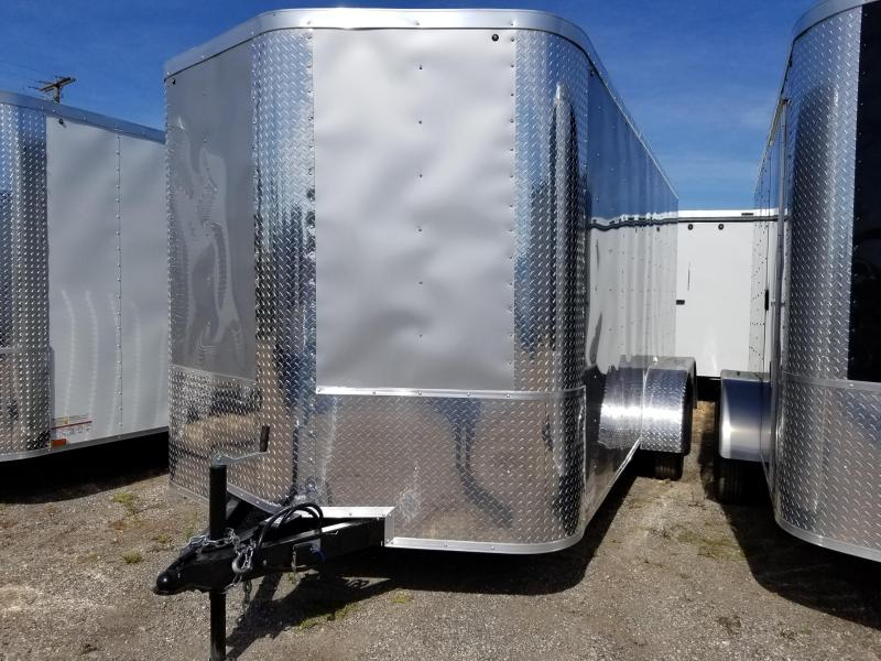 Arising 7x14x6  Enclosed  Cargo Trailer Motorcycle trailer Storage