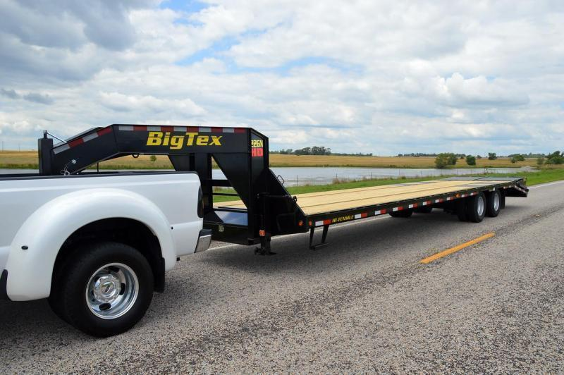 Big Tex Trailers 22GN-20+5 Mega Ramps Equipment Trailer 25'