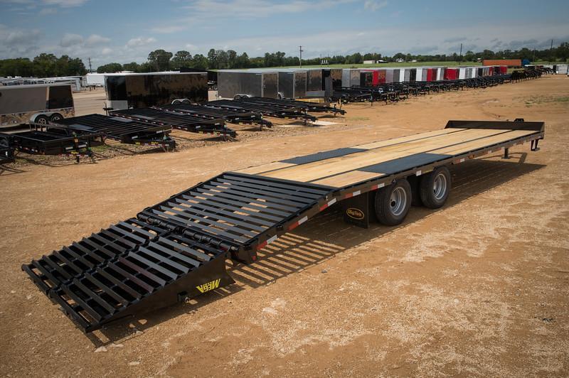 2021 Big Tex Trailers 22PH-25+5MR Pintle Equipment Trailer