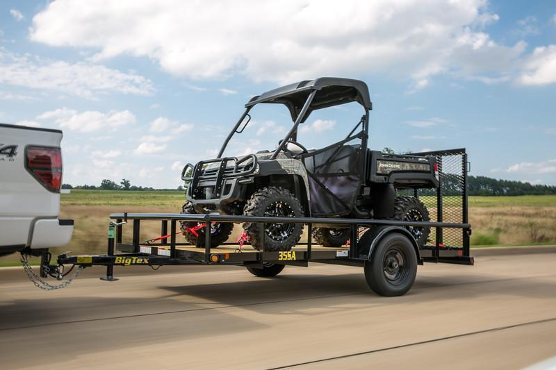 "Big Tex 35SA 77""x10 Utility Trailer ATV Motorcycle Landscape Hauling"