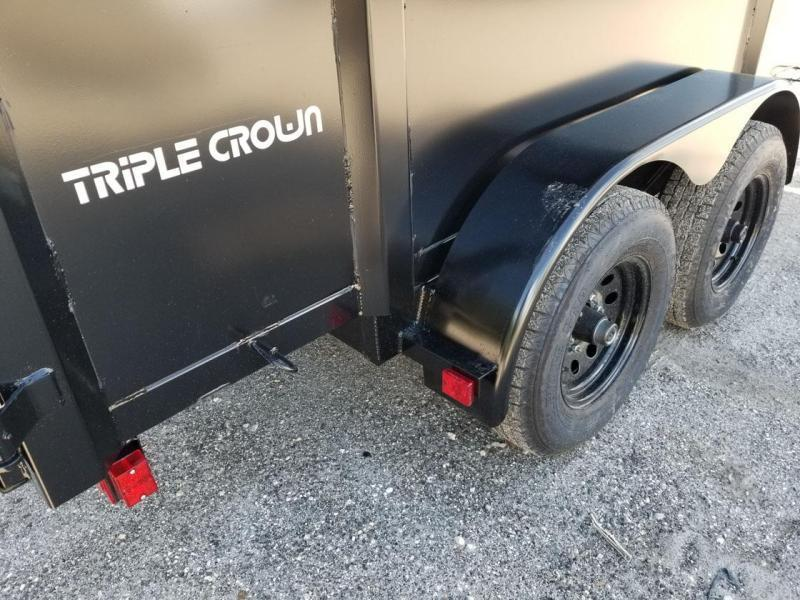 Triple Crown Trailers 6x12 Dump Dump Trailer