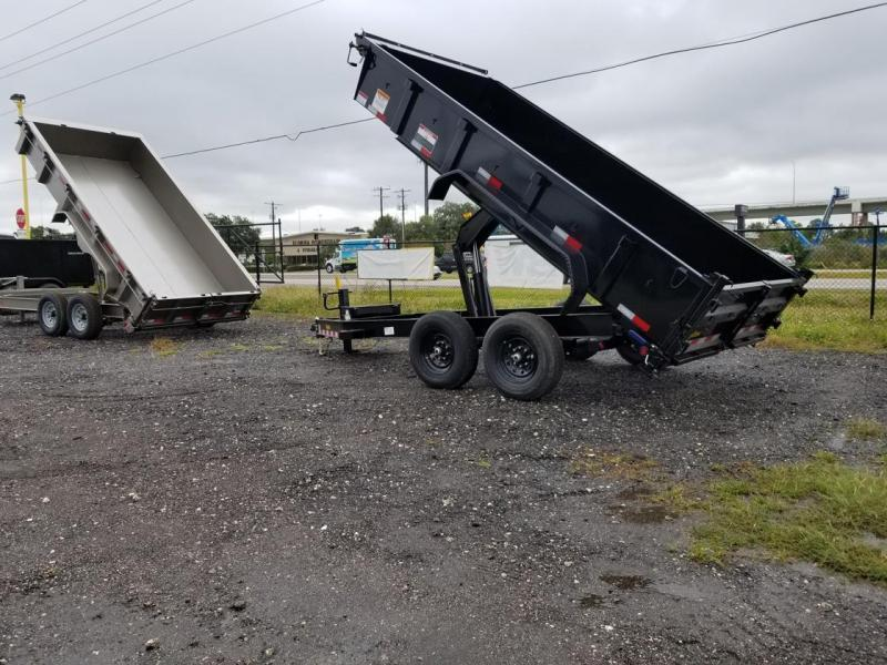 2021 Big Tex Trailers 14LP-14 Low Profile Dump Trailer with ramps