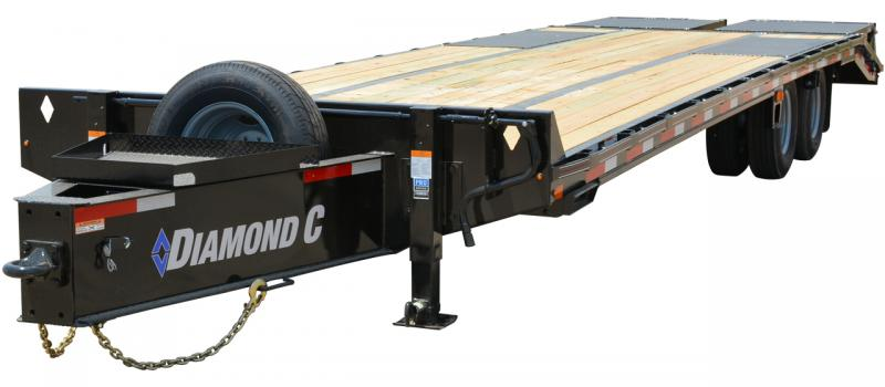 2021 Diamond C Trailers PX210 Flatbed Trailer