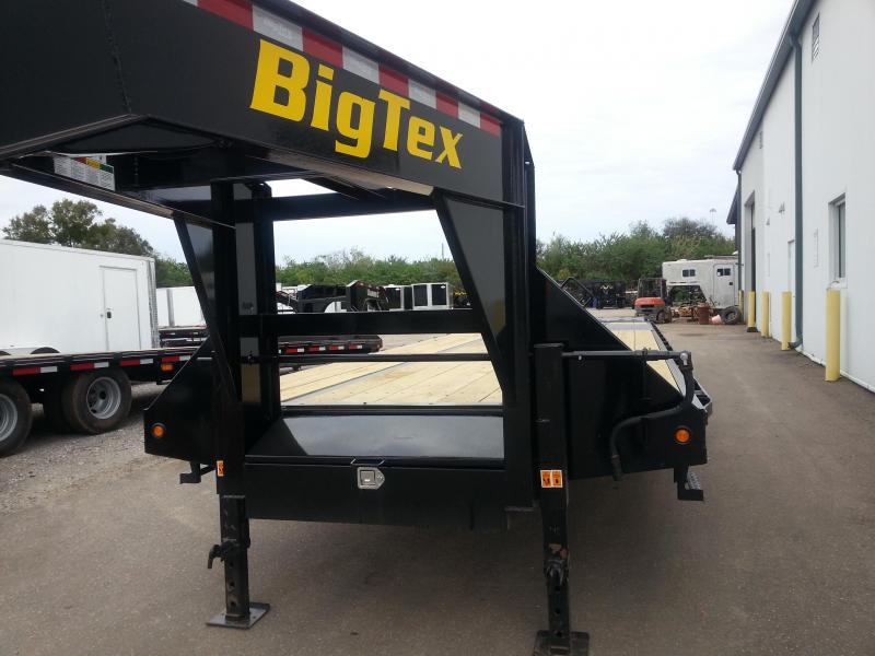 Big Tex Trailers 22GN-30+5 Gooseneck Tandem Dual Equipment Hauler Trailer 35' Gooseneck Trailer