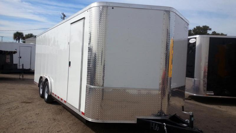 8.5x20x6'6 Arising Enclosed Trailer Cargo Car