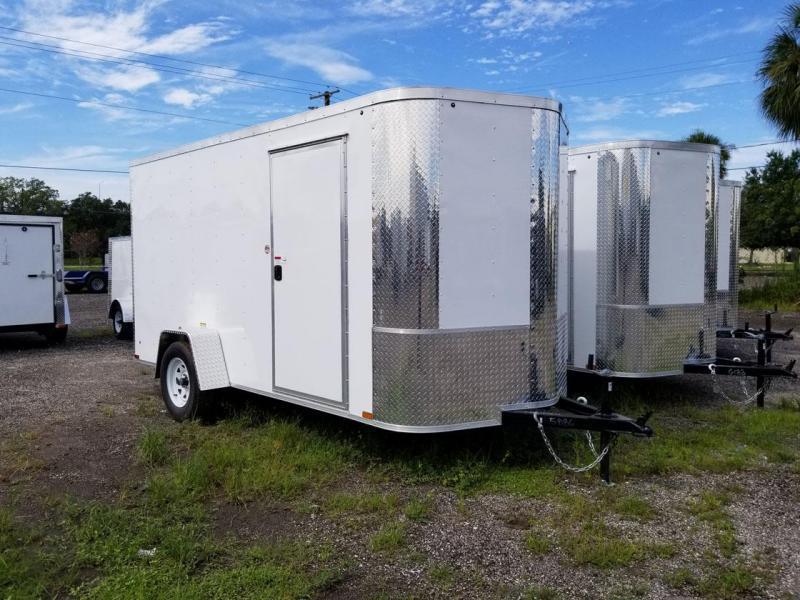 6X12X6'3 SA Arising Enclosed Trailer Motor Cycle