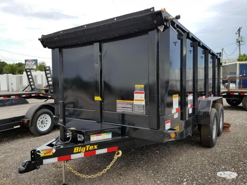 Big Tex Trailers 14LX-14 Dump Trailer