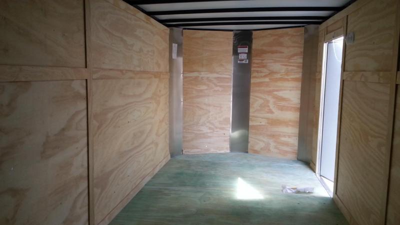 7 x 18 x 6  Arising Industries Enclosed Motorcycle Storage