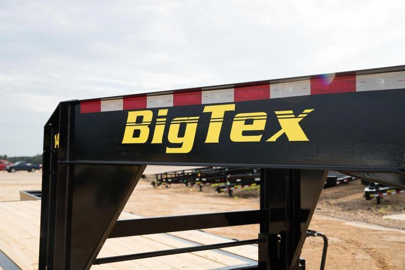 Big Tex Trailers 14GN-20+5MR  Single Wheel Equipment Trailer