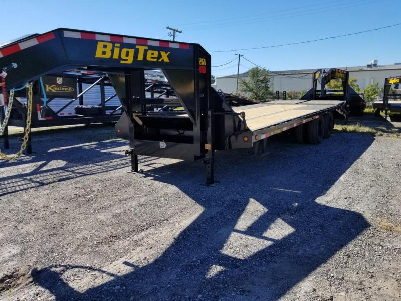 Big Tex Trailers 22GN-20BK+5 MR Mega Ramps Equipment Trailer 25'