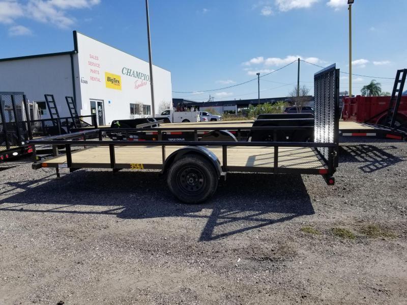 "Big Tex 35SA 77""x14 Utility Trailer ATV Motorcycle Landscape Hauling"