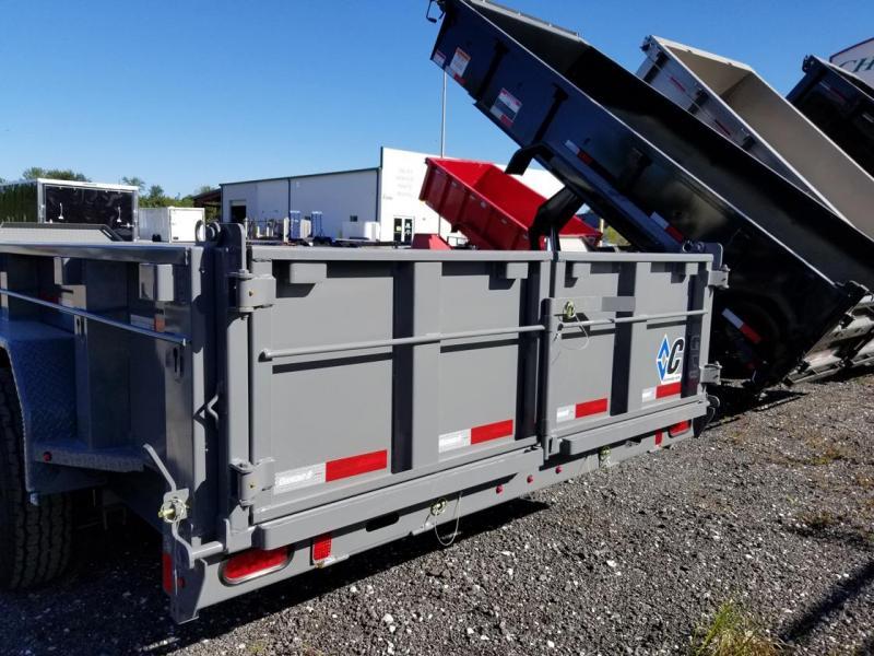 """Diamond C Trailers LPD 82""""x16 Dump Trailer landscape hauling"""