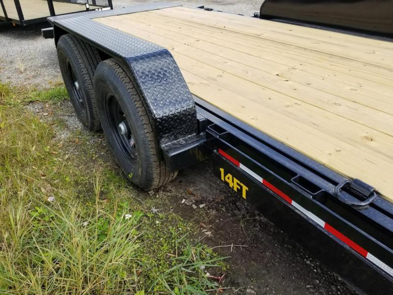 2021 Big Tex Trailers 14FT-20 TILT Equipment Trailer