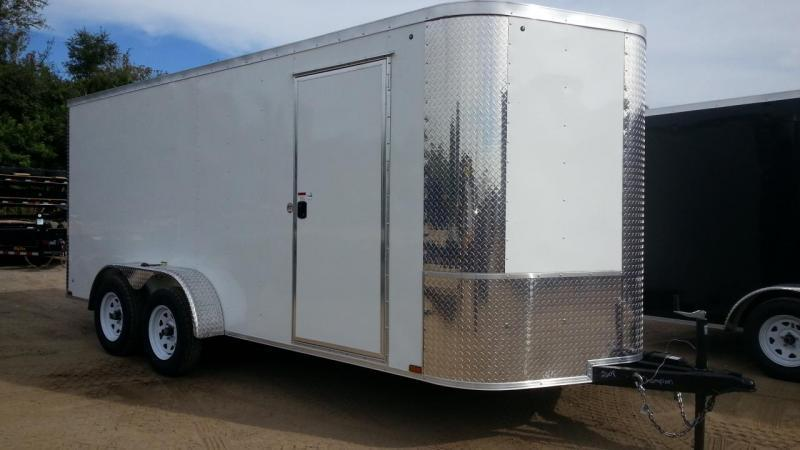 7 x 16 x 7  Arising Industries Enclosed Motorcycle Storage