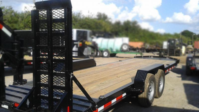 "Diamond C Trailers LPX207 22'x82""  Equipment Trailer"