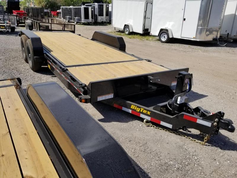 Big Tex Trailers 14TL-22' Equipment Trailer 16' TILT Deck