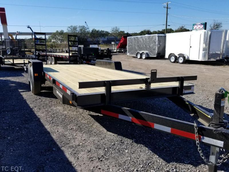 "2021 Triple Crown Trailers ECF 7x24"" Equipment Trailer"