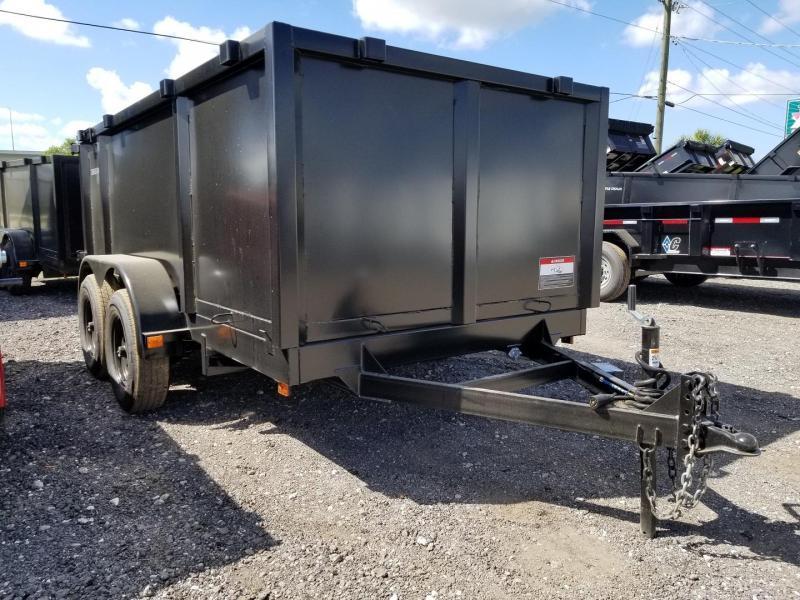 Triple Crown 6x12 5.2k 4' sides Low Rider Dump Trailer