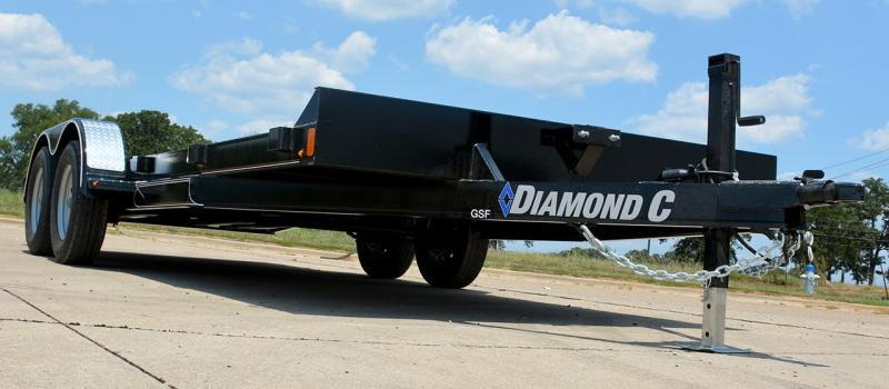 "2021 Diamond C Trailers GFS 235 20x83""Car / Racing Trailer"