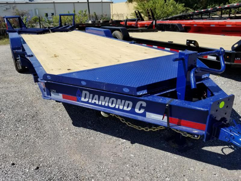 "Diamond C Trailers LPX210 22'x82""  Equipment Trailer"