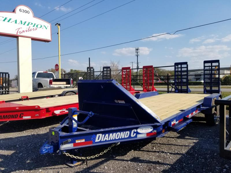 "Diamond C Trailers LPX210 20'x82""  Equipment Trailer"