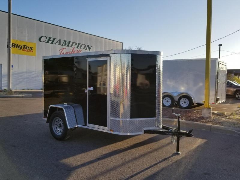 5x8x5 Arising Enclosed Trailer Storage