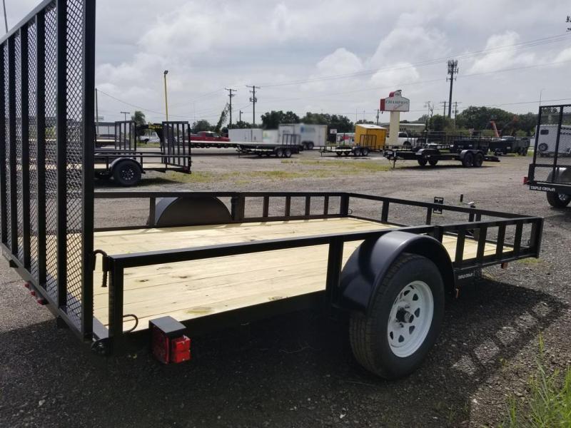 2021 Triple Crown Trailers 7x12SA ATV Utility Trailer