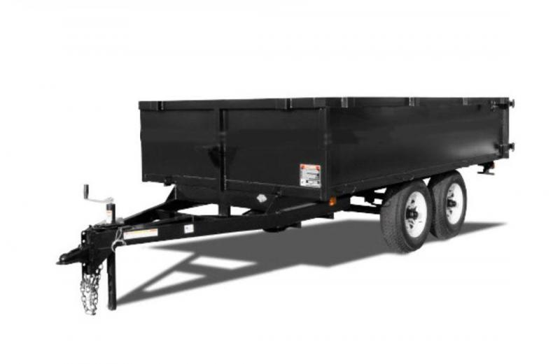 Triple Crown Trailers OA6x10 2' Sides Over Axle  Dump Trailer