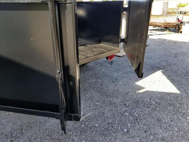 Triple Crown Trailers OA6x10 2' Sides Over Axle  Dump Trailer