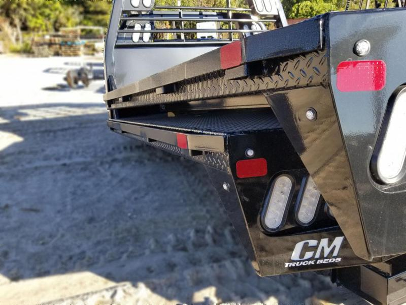 2021 CM RD Steel Flat deck body Truck Bed
