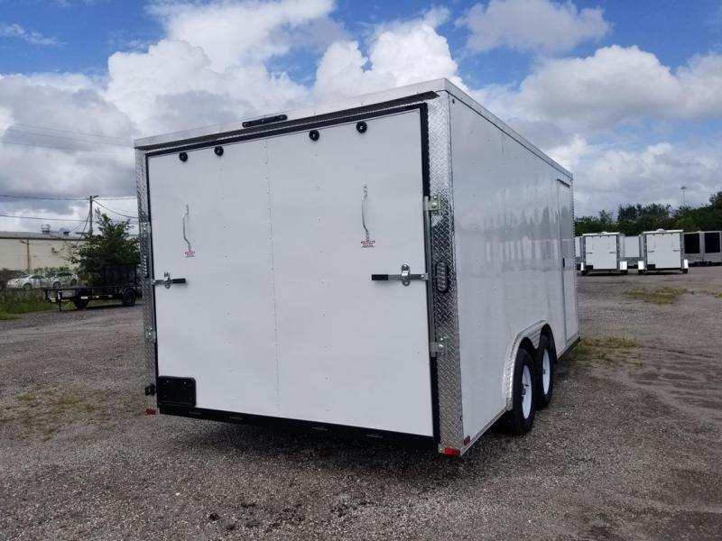 2021 Arising 8.5x16x6'6 Enclosed Cargo Trailer