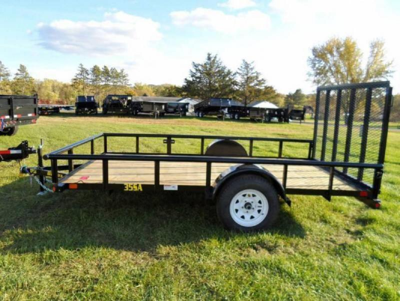 "Big Tex 35SA 77""x10 Utility Trailer ATV Motorcycle Landscape Hauling"
