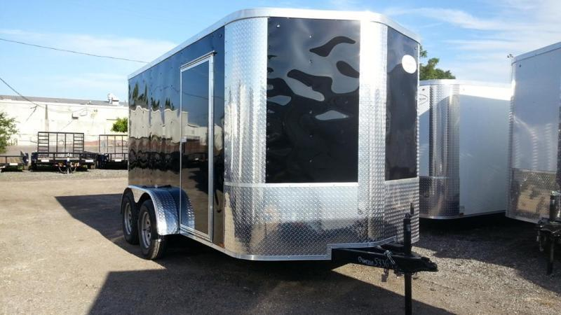 2021 Arising 6x12TA Enclosed Cargo Trailer Motorcycle storage