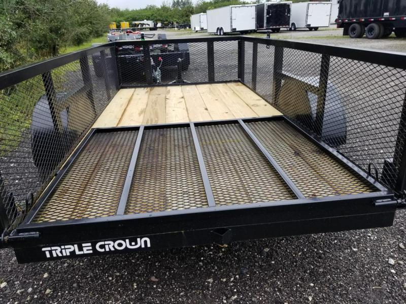 2021 Triple Crown Trailers 5x10 24' Mesh Utility Trailer