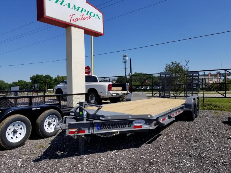 2021 Diamond C Trailers LPX207 Equipment Trailer