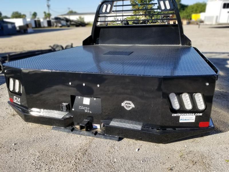 2021 CM SK Steel Flat deck body Truck Bed