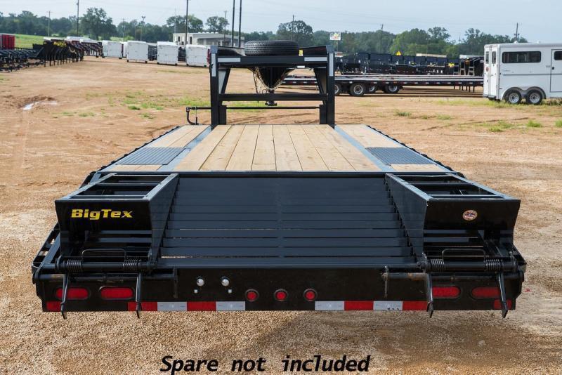 Big Tex Trailers 14GN-20+5 Single Wheel Equipment Trailer
