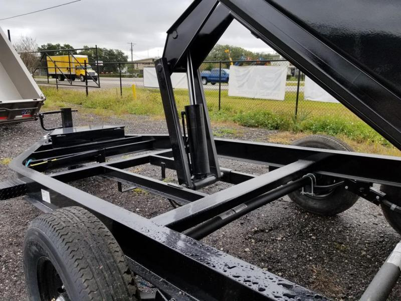 Big Tex Trailers 14LP-16 Low Profile Dump Trailer with ramps