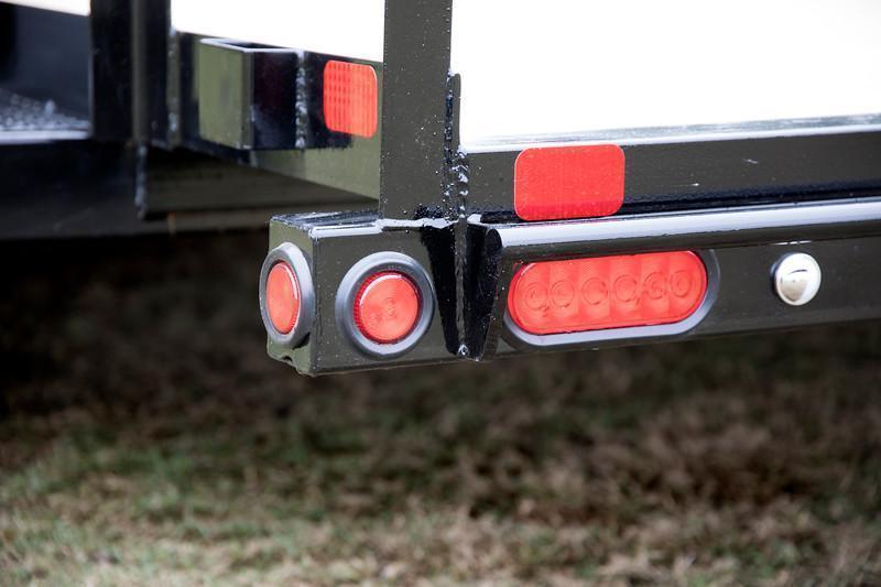 Big Tex 70PI-20' Trailers Utility Pipe Top Landscape