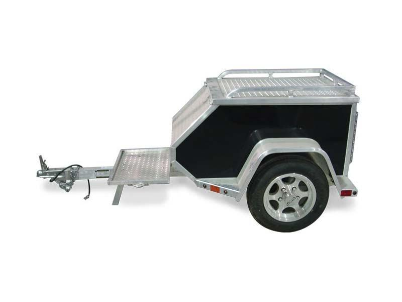 Aluma MCT Tow Light weight Tow Behind Motorcycle Trailer