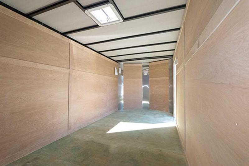 7 x 16 x 6'3  Arising Industries Enclosed Motorcycle Storage