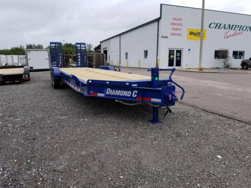 "Diamond C Trailers LPX210 28'x82""  Equipment Trailer"