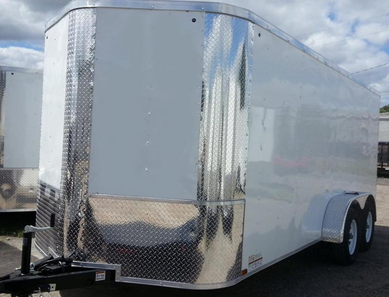 7 x 16 x 6TA  Arising Industries Enclosed Motorcycle Storage