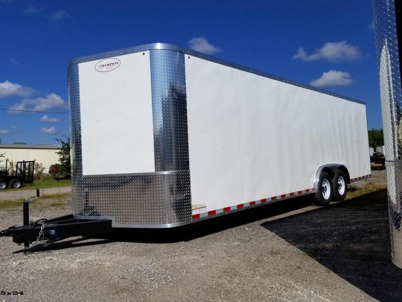 8.5x20x6'6 Black Arising Enclosed Trailer Cargo Car Hauler