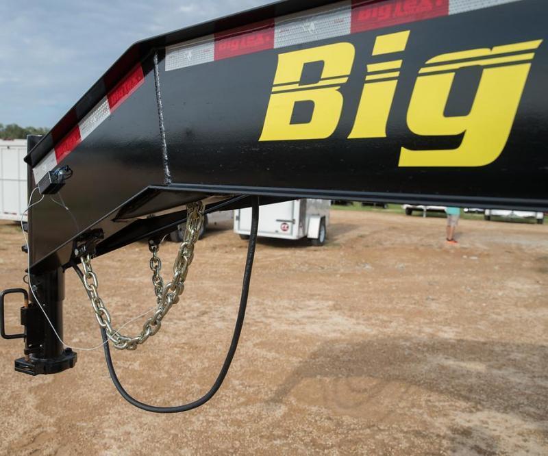 Big Tex Trailers 22GN-25+5 Mega Ramps Equipment Trailer