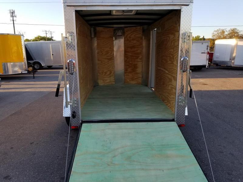 5x8x5 Arising Enclosed Trailer Storage