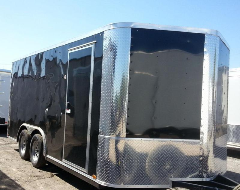 8 5x16x6 6 Arising Enclosed Trailer Crago Carhuler