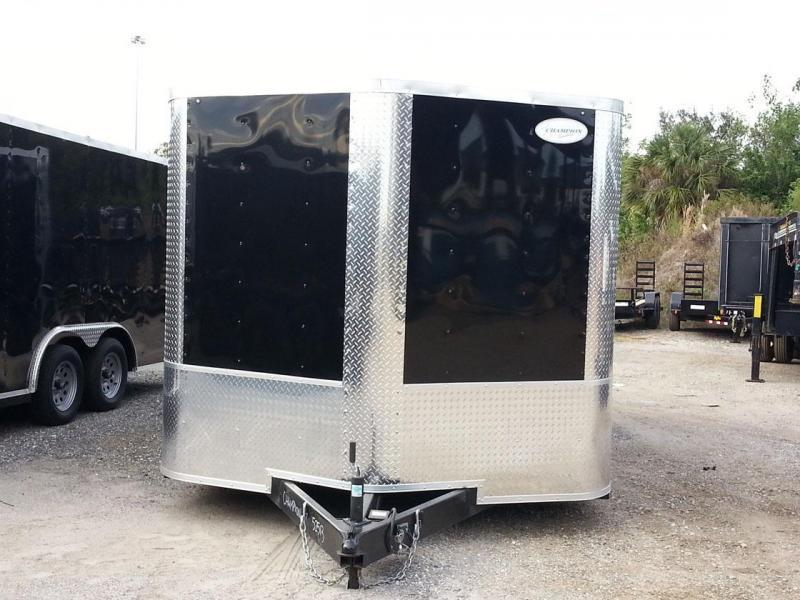 8 5x16x6 6 Arising Enclosed Trailer Crago Carhuler